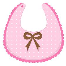 CHB ✿ Sueños En Rosa Bebé Tarjetas De Bebé Baberos