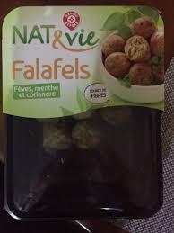 cuisine et vie falafels nat vie 200 g