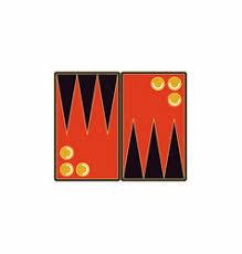 Backgammon Board Game Table Vector
