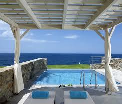 chambre d hotel avec piscine privative hôtel sensimar royal blue resort spa 5 thalasso heraklion crète