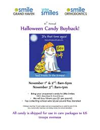 Operation Gratitude Halloween Candy Buy Back by The Halloween Candy Buyback Returns Smile Grand Haven Little