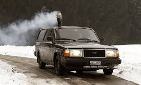 Its Hard To Imagine What Led Pascal Prokop Install A Wood Burning Stove In His 1990 Volvo 240 Station Wagon Though Were Safe Say That The Trend