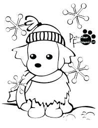 Coloring Pages For Winter Free Printable