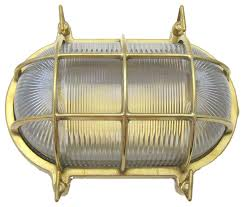 small oval cage light solid brass interior exterior use by