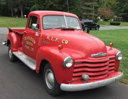 100 1952 Chevy Panel Truck Little Red Fire Pickup