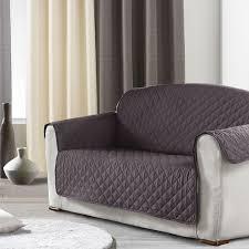 protege canape protège canapé 3 places anthracite housse de canapé eminza