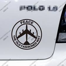 B 52 Peace Air Force The Old Fashioned Way Military Car Truck Decal ... Truck Decal Vector Graphic Abstract Racing Stock Royalty Badge Of Truck Kamaz And Sticker Orangeblue Stripes Emercom Product 2 Hemi 57 Liter Ram Stripe Dodge Vinyl This Hot On My Funny Warning Sticker Fart True Women Use 3 Pedals Woman Driver Etsy 2019 White 4x4 Mountain Car For Jeep Pickup D Yin Yang Vinyl Decal Chinese Symbol Ying Taijitu Vintage Car Motor Vehicle Free Commercial Clipart Boston Celtics Decal Window Sticker Nba New Work Album Imgur Carson Mchone Delivery Free Image