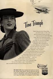 United Air Lines Mainliner Time Triumph