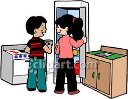 Play Kitchen Clipart 1