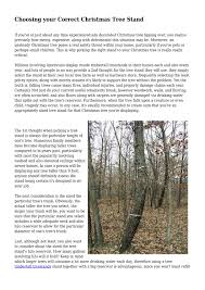 Choosing Your Correct Christmas Tree Stand By Youthfulfreeway45