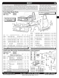 100 Chevy Truck Parts Catalog Free And Accessories Citas Clebres Pinterest