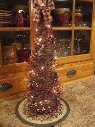 Downswept Pencil Christmas Tree by Primitive Twig Christmas Tree For The Home Pinterest Twig