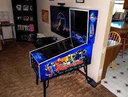 Diy Arcade Cabinet Flat Pack by Completed Tredog U0027s Mini Pin Arcade Cabinet Virtual Pinball