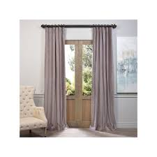 Lush Decor Belle Curtains by Eff Vintage Cotton Velvet Window Curtain Brown Velvet Curtains