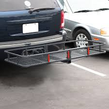 100 Hitches For Trucks 60 X 25 Folding Cargo Carrier Luggage Rack Hauler Truck Car Hitch