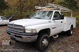 100 Utility Bed Truck For Sale 2002 Dodge Ram 3500 Utility Bed Pickup Truck Item ED9697