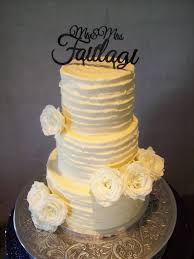 Rustic Wedding Cake Auckland 595 Topper Supplied By Client So Not Included Fresh Roses