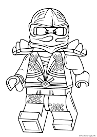 Lego Ninjago Lloyd Zx Coloring Pages Print Download 457 Prints