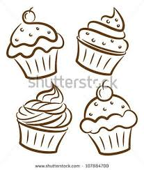 Cupcake drawing free vector 88 073 files for mercial use format ai