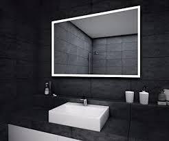designer led badspiegel badezimmer wand spiegel ip20 ip22