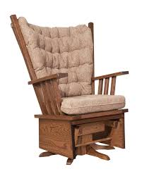 Amish Mission Highback Swivel Glider | Lounge Chairs And ... Amish Luxury Mission Rocking Chair Stickley Oak Classics Chapel Street Slat Back Rocker Leather And Ottoman Style Ding American Fniture Design Woodworking Project Paper Plan Glider Relax Mabel Countryside Pottery Barn Kids Comfort Swivel Recling Nursing Grey Simply Royal Dermrw Buckeye Rockers Gliders Solid Wood With Venetian Worldwide Morrisville Dark Arm Victorian Press Carved Oversized