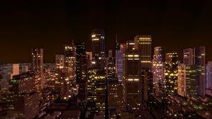 Stock Video Of Downtown Metro City Skyline Aerial Loop