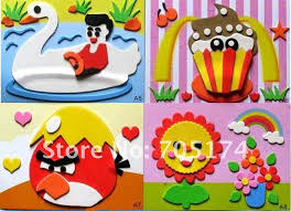 DIY ModelsHome Adornment 3D Puzzle Childrens Educational Handwork Paper Models Set Craftracing Card Model In Puzzles From Toys Hobbies On