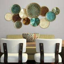 Stratton Home Decor Textured Plates Wall