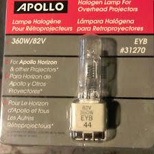apollo halogen l for overhead projector eyb 31270 360 watt 82