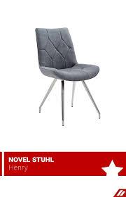 hochwertiger stuhl mit kunstleder bezug haus deko stühle