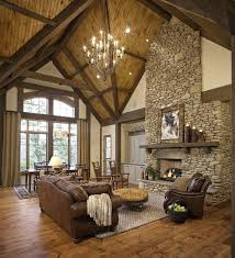 Modern Rustic Style Decorating Lovely Living Room Collection Fresh On Home Security Set