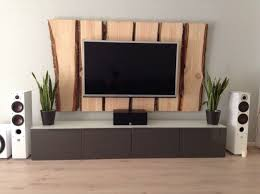 holz tv wand tv wall wood holz wohnzimmer tv wand holz