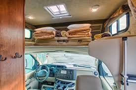 C Small Motorhome Interior 2