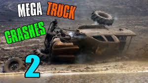100 Truck Crashes Video MEGA MUD TRUCK CRASHES COMPILATION 2 YouTube