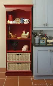 WhiteRed Black Cottage Red Country KitchensCountry Kitchen DiyPig DecorKitchen Ideas