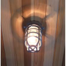 sauna industrial weather tight light wall mount