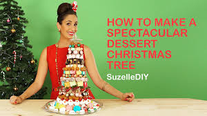 Rice Krispie Christmas Tree Cake by How To Make A Spectacular Dessert Christmas Tree Youtube