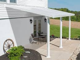 Palram Patio Cover Grey by 10 Ft Patio Covers White Awnings Canada