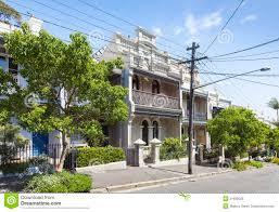 100 Sydney Terrace House Paddington Stock Photo Image Of Landmark
