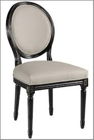 Dining Room Chair Styles French Oval Back Side