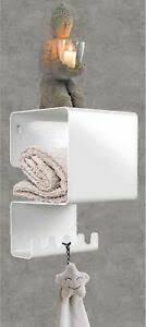 details zu hängeregal wandregal mehrzweck regal badezimmer ablage handtuchhalter tchibo