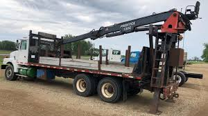 100 Tri Axle Heavy Haul Trucks For Sale Truck Log Loaders Logging Equipment 44 Listings