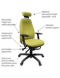 Ergonomic Kneeling Posture Office Chair by Adapt 630 Chair Online Ergonomics