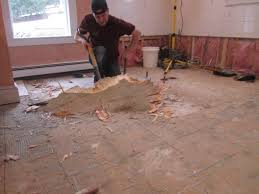 Covering Asbestos Floor Tiles With Hardwood by Covering Asbestos Floor Tiles With Plywood Tile Floor Designs