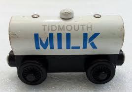 Tidmouth Sheds Wooden Ebay by Thomas Friends Wooden Railway Tidmouth Milk Tanker Car What U0027s It