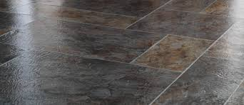 As Distinctive And Stylish Slate Flooring Is It Results In An Elegant Look Sumptuous Passage Of Color Artistic Texture Which Captures Light The
