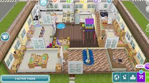 Sims Freeplay Second Floor by Sims Freeplay House Design 5 Daycare Preschool Youtube