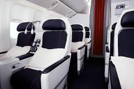 siege business air premium economy service on board