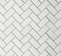 photo gallery trendy tile picks herringbone pattern white