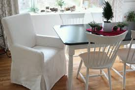 Contemporary Dining Room Chair Cover With Arm Kitchen Back ... Yisun Matelasse Damask Long With Arms Arm Ding Chair Julia Arm Ding Chair Slipcover Why I Love My White Slipcovered Chairs House Full Contemporary Room Cover Kitchen Back Tailored Denim Seat Covers The Slipcover Maker Room Chairs Covers Large And Beautiful Photos Dingchair Slipcovers Hgtv Saltandblues How To Make A Howtos Diy